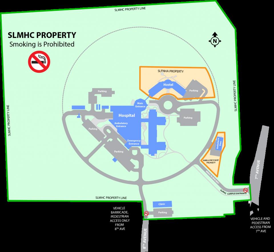 smoke-free map
