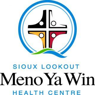 Sioux Lookout Meno Ya Win Health Centre logo, full colour