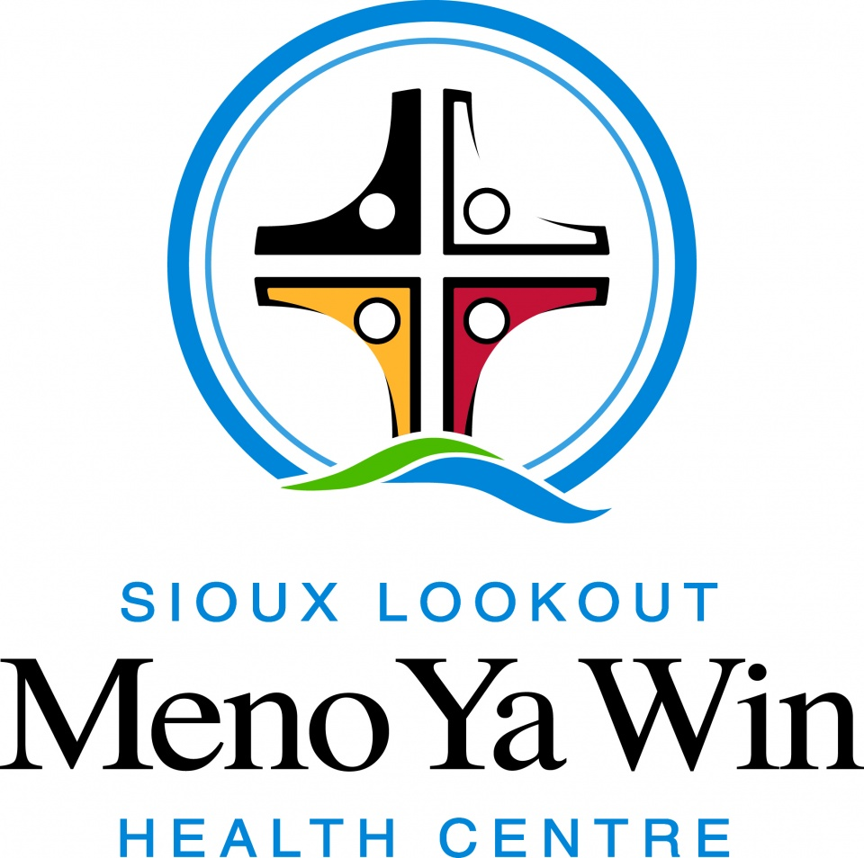Sioux Lookout Meno Ya Win Health Centre logo, full colour