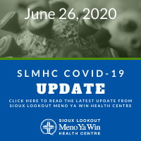 SLMHC COVID-19 update graphic
