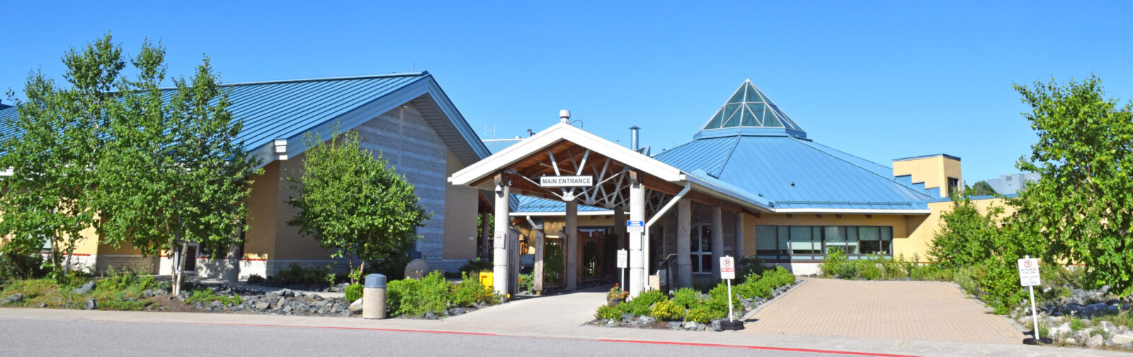 SLMHC main entrance.